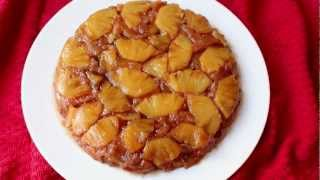 Pineapple Upside-down Cake Recipe - Fresh Pineapple Coffee Cake