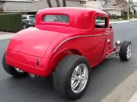 1932 ford 3 window coupe hot rod highboy youtube for 1932 ford 3 window coupe hot rod