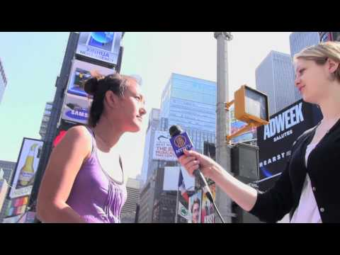 Tibetans, NYCers protest China's Xinhua Ad in Times Square