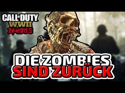Die Zombies sind zurück! -  ♠ Call of Duty: WWII Zombies #001 ♠ - Deutsch German - Dhalucard