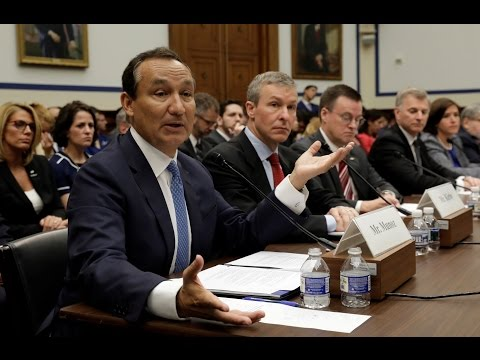 Excerpt of United Airlines CEO's hearing at US Congress