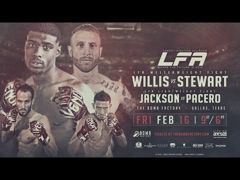 Legacy Fighting Alliance 33 Prelim - Ryan Chester vs Greg Hardy