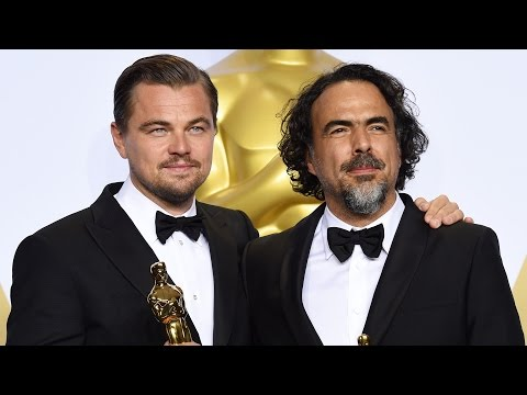 Oscars: Leonardo DiCaprio and Alejandro González Iñárritu - Full Backstage Interview