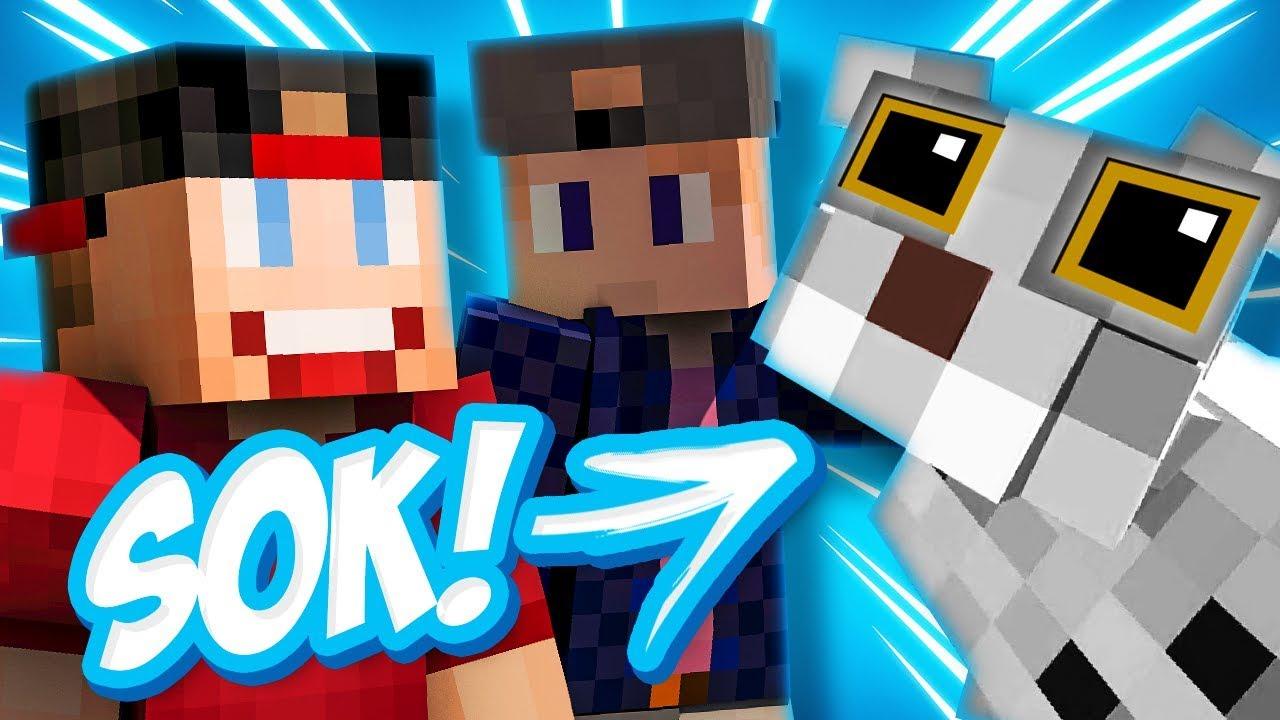 SOK DE POES GRIJPT JE! - Minecraft