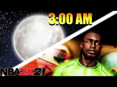 The BEST NBA 2K21 MOMENTS happen at 3 AM... |
