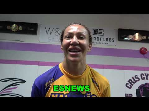 Cyborg On Training With Manny Pacquiao, Claressa Sparring & Why Her Cat Solid The Sofa