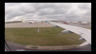 "Landing at Hamburg ""Helmut Schmidt"" Airport - Eurowings Airbus A319-112 D-ASTX"