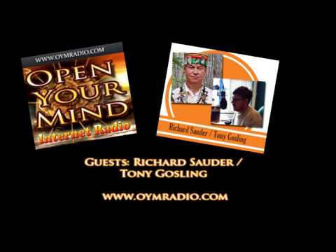 Open Your Mind (OYM) Radio - Richard Sauder / Tony Gosling - Nov 27th 2016