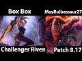 [ Box Box ] Riven vs Darius   Top  - Box Box Riven Stream
