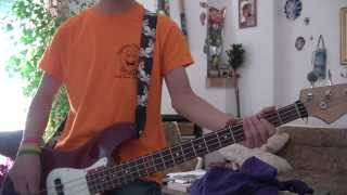 4 non blondes - Whats up Bass cover