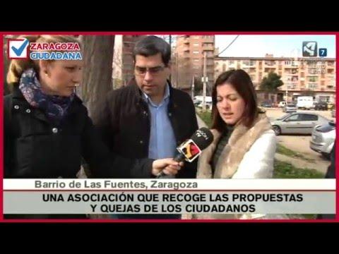Especial de Aragón TV sobre Zaragoza Ciudadana