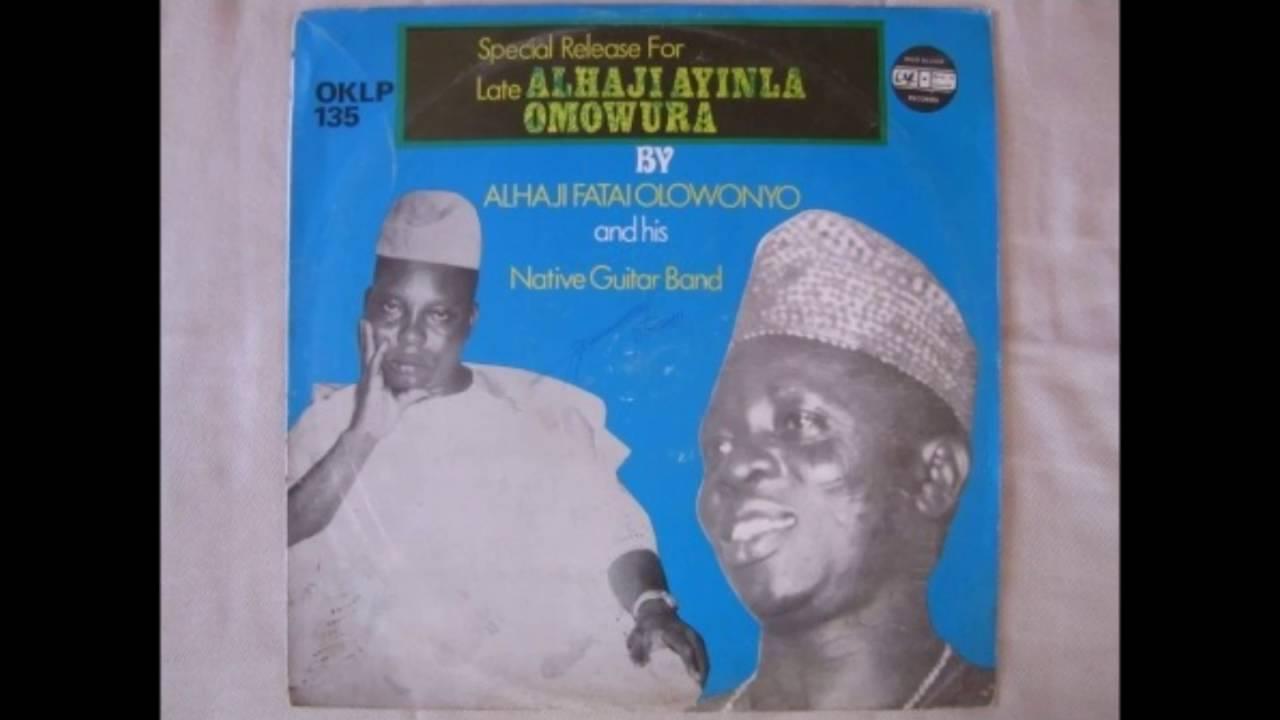 Ayinla Omowura - Ise Ile