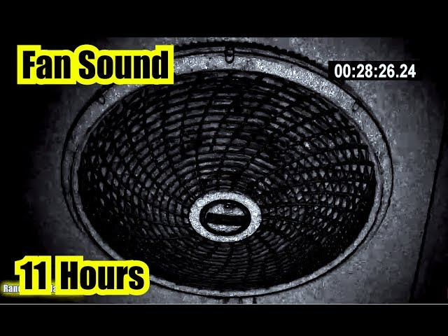 FAN WHITE NOISE ~ Fall asleep & stay asleep for 11 Hours #1 SOUND On YOUTBE !
