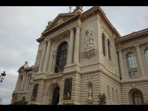 Oceanographic Museum of Monaco  -  entrance