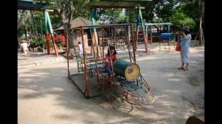 POSTCARD FROM BANGKOK THAILAND - Playground Equipment from your Childhood