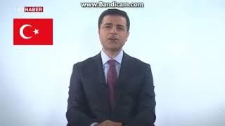 selhtattin demirtaş 23 haziran 2018 TRT konuşması
