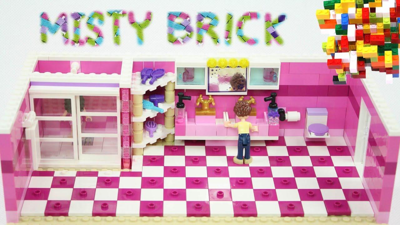 how to make a lego bathroom