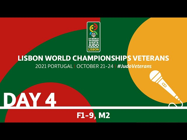 Day 4 - commentated: World Championships Veterans 2021
