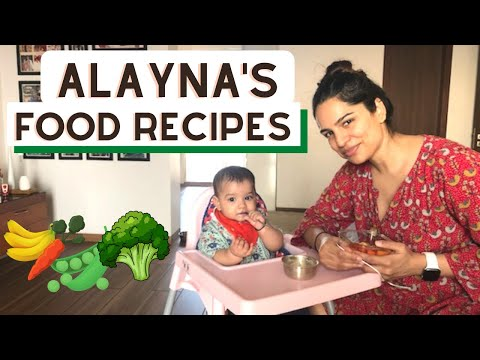 Healthy Baby Food Ideas | Food Recipes For Babies 8 Months Old Baby | Baby Meals For 8 Month Old