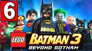 LEGO BATMAN 3 BEYOND GOTHAM Walkthrough Part 6 LEVEL Space Suits You Sir PS4 XBOX PC [HD]