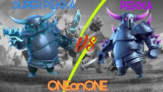 P.E.K.K.A vs SUPER P.E.K.K.A | Clash of Clans