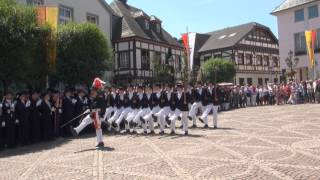 Parade der Junggesellen Fronleichnam 2015