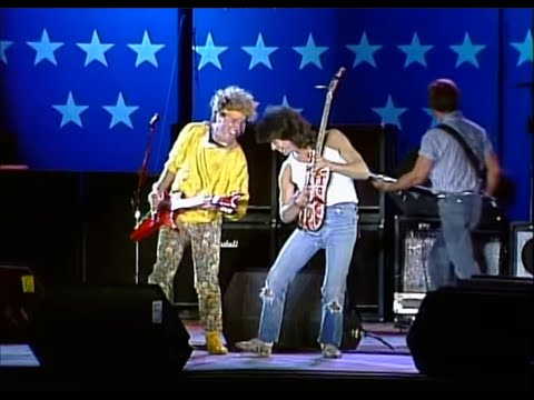 sammy hagar eddie van halen rock and roll live at farm aid 1985 youtube. Black Bedroom Furniture Sets. Home Design Ideas