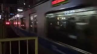 小田急3000形3483F急行「藤沢行き」町田駅到着