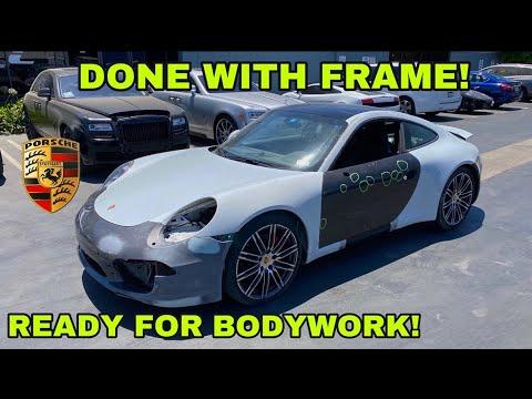 REBUILDING A SALVAGE 911 PORSCHE CARRERA 4S (PART 2)