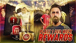 FIFA 18: PLATZ 1 DER WELT! 92+ WALKOUT! TOP 100 FUT CHAMPIONS REWARDS! | CIHAN YASARLAR