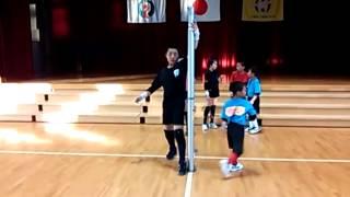 東風JVCスパイク練習メニュー5