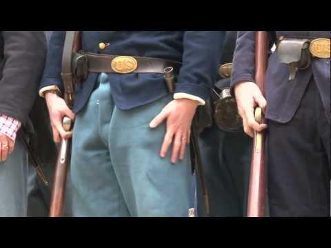 Civil War Camp Life Reenactment
