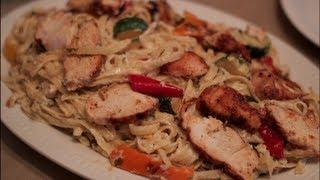 Grillrd Chicken Fettuccine Alfredo Recipe