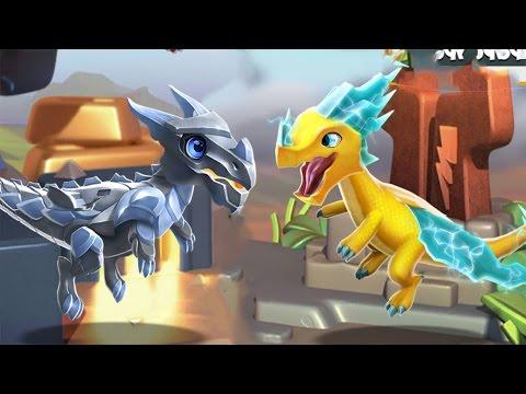 Драконы Металла Легенды Дракономании l Dragon Mania Legends часть 4 Андроид игра