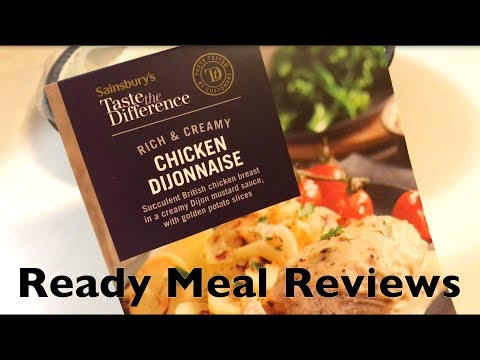 Sainsbury's Taste the Difference Chicken Dijonnaise - Doesn't go according to plan!
