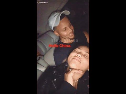 Stephen, Ayesha and Seth curry funny moments in China 2017 ...