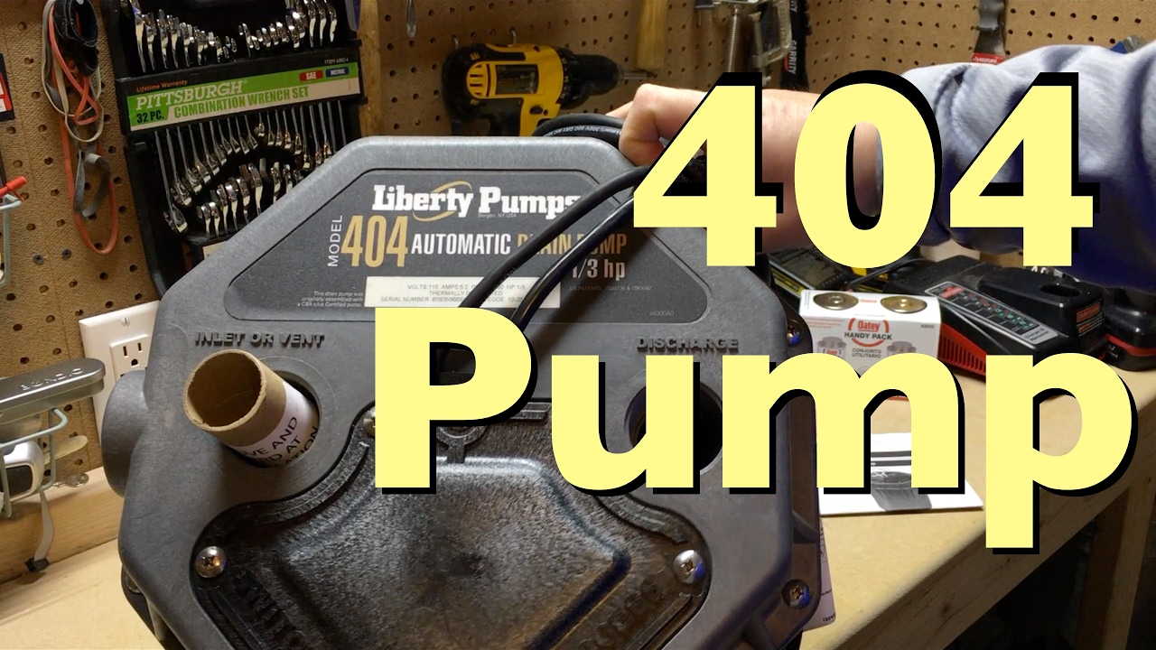 Liberty 404 Residential Pump DIY Installation YouTube