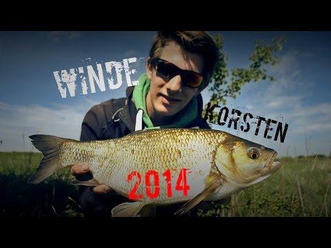 Korsten op winde 2014 - Float fishing for ide 2014