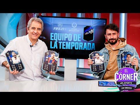 REVELAMOS EL TOTS DE LA LIGA SANTANDER CON MANOLO LAMA | EL CÓRNER  I FIFA21 |