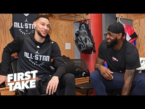The LeBron-Ben Simmons trade rumors need to stop! - Stephen A. | First Take
