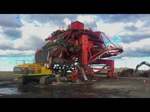 Port Kembla Coal Terminal Stacker Reclaimer Demolition Documentary