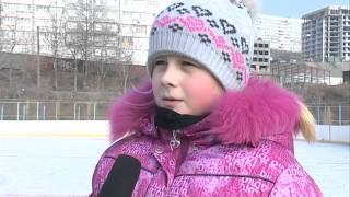 Катания на льду вместо уроков физкультуры -- хоккейные коробки пользуются популярностью у школьников