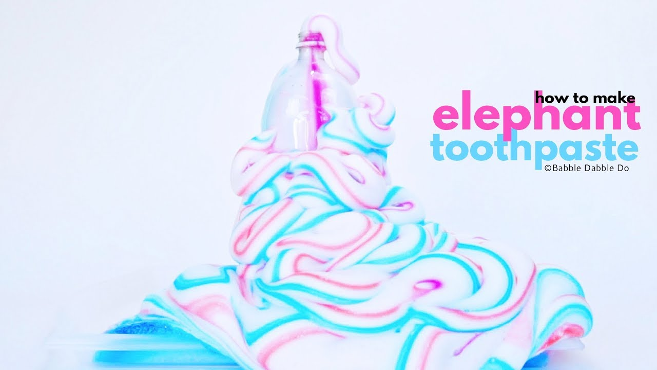 Amazing Science How to Make Elephant Toothpaste , Babble