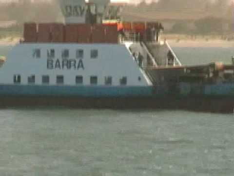 Gambia Holiday Barra Ferry trip from Banjul Port