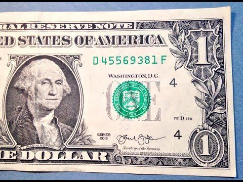 2013 Dollar Bill Error: Misaligned/ Miscut Error