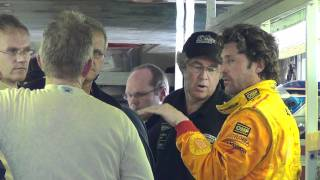 www.MOTRface.com Patrick Dempsey and Joe Foster discuss their car