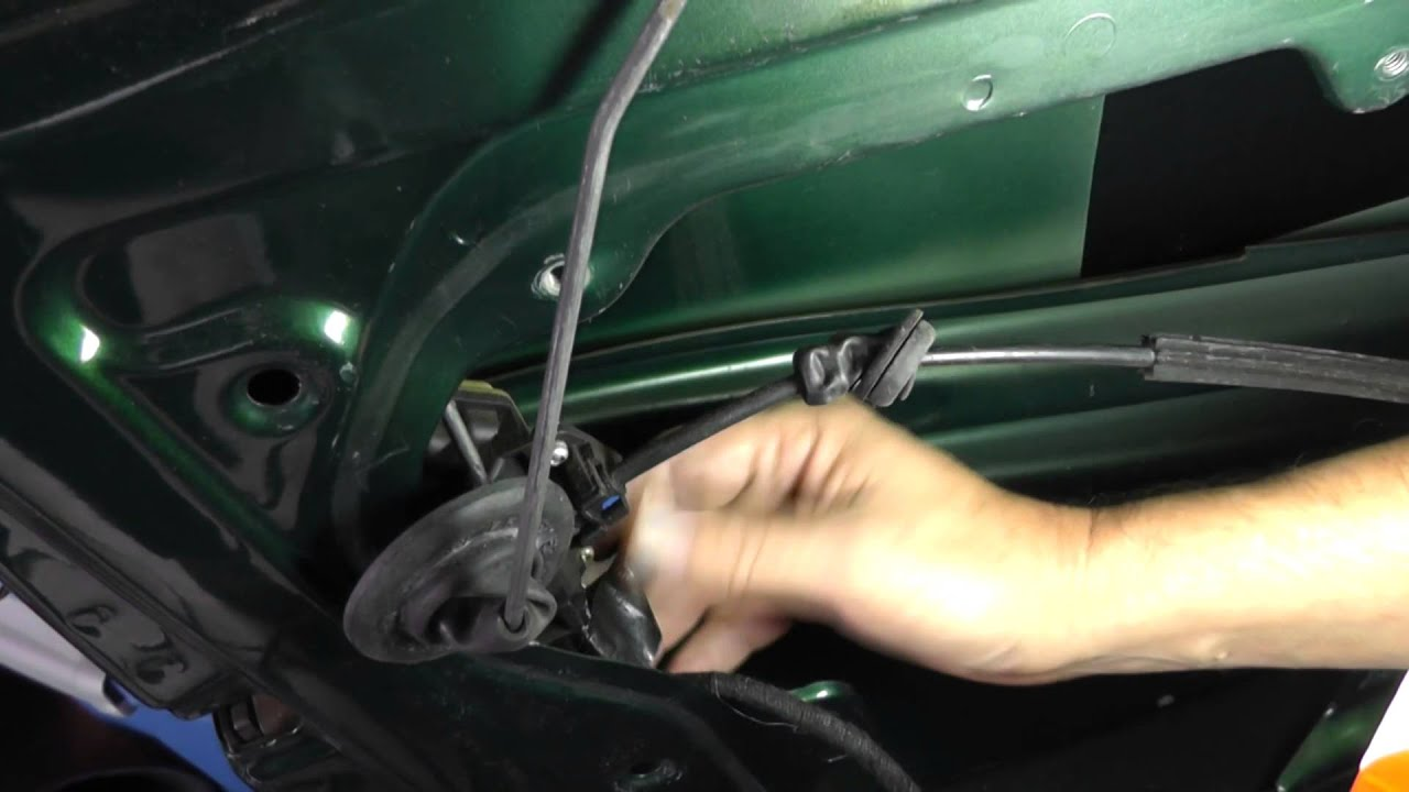 & Volkswagen Jetta Removing Driver Door Lock Module - Part 1 - YouTube