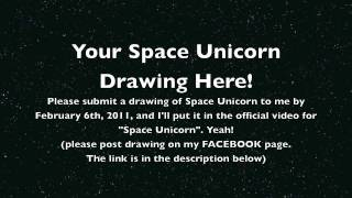 Space Unicorn Drawing Request - Parry Gripp