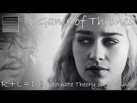 Game of Thrones R+L=D and B+A=J ? Alternate Jon Snow Theory   The Tower of Joy