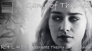 game of thrones r l d and b a j alternate jon snow theory   the tower of joy